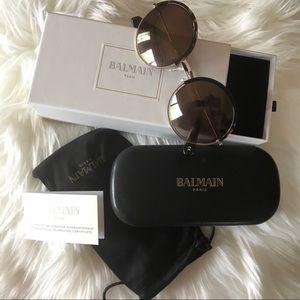 Balmain round sunglasses